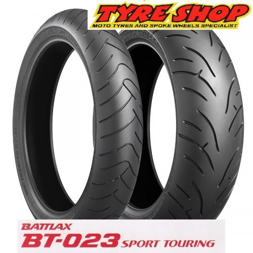 120/70-18+160/60-17  BT023  BRIDGESTONE